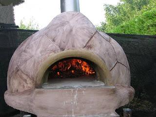 A me piace cosi 39 forno a legna da giardino tartaruga - Forno per giardino ...