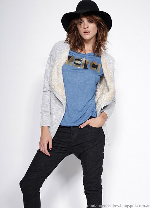 Moda mujer otoño invierno 2015 Gloria Jeans.