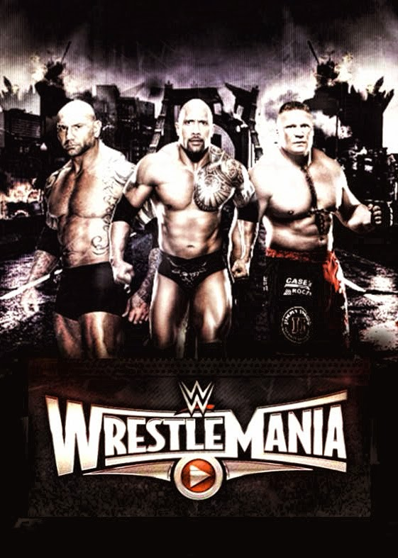 Image » WrestleMania 31 1st Poster Released By Levi's Stadium - feat: Animal, Beast & If ya smelll....