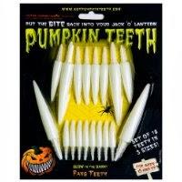 pumpkin teeth plastic for jackolaterns