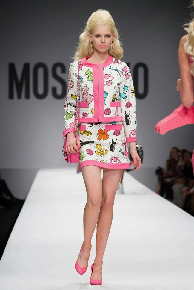 Moschino brings a Barbie inspired Spring/Summer 2015 ...