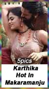Actress Karthika hot and spicy in Makaramanju 5 large still photos