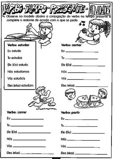 Portugu  S   Gram  Tica   Exerc  Cios   Verbos