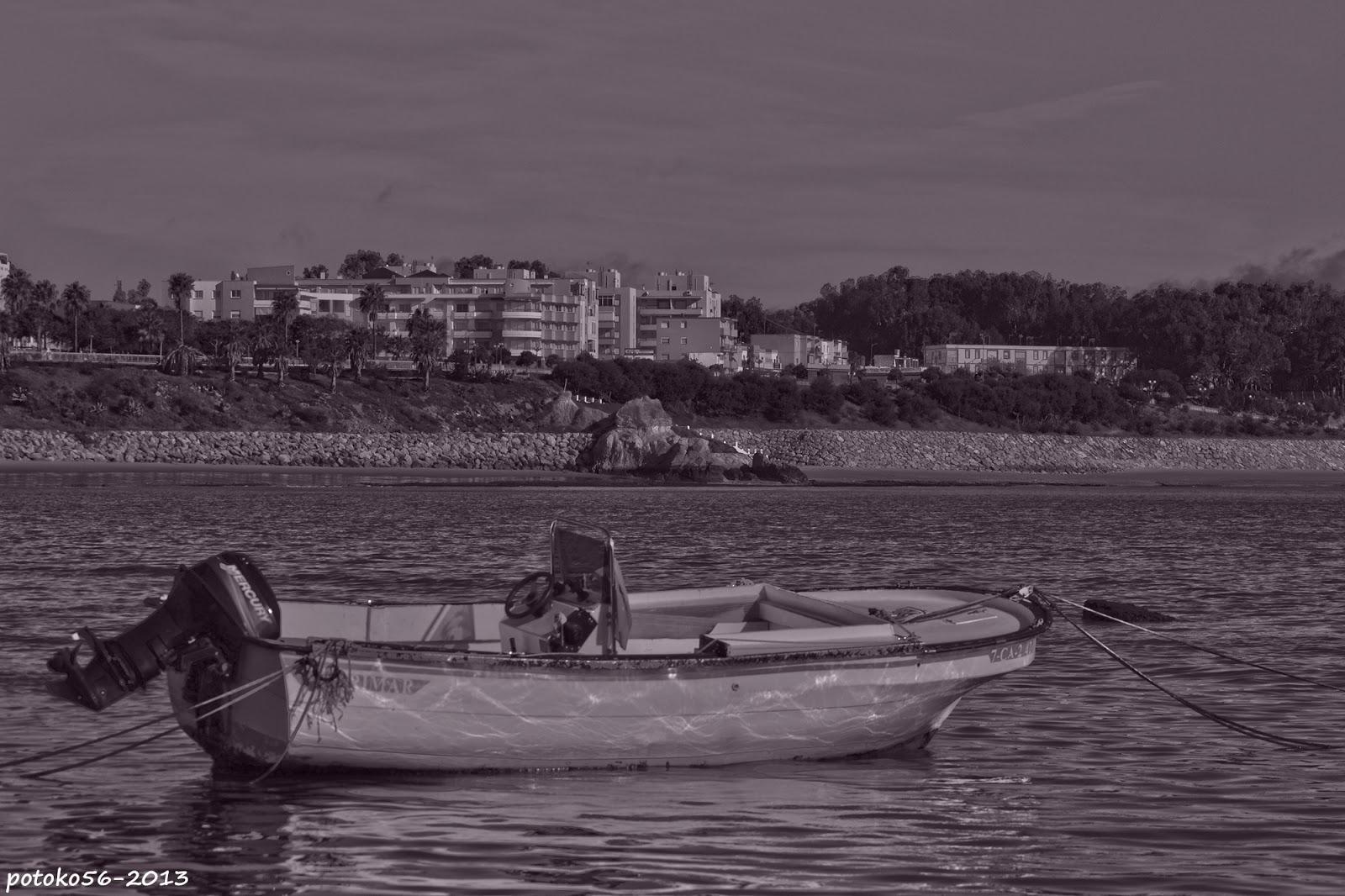 Vista de una barquilla en el  Chorrillo