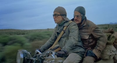 Gael Garcia Bernal and Rodrigo de la Serna ride through South America in Walter Salles' THE MOTORCYCLE DIARIES