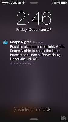 scope nights notification screenshot