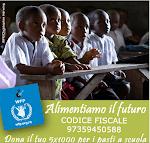 IL 5X1000 AL COMITATO ITALIANO WFP ONLUS