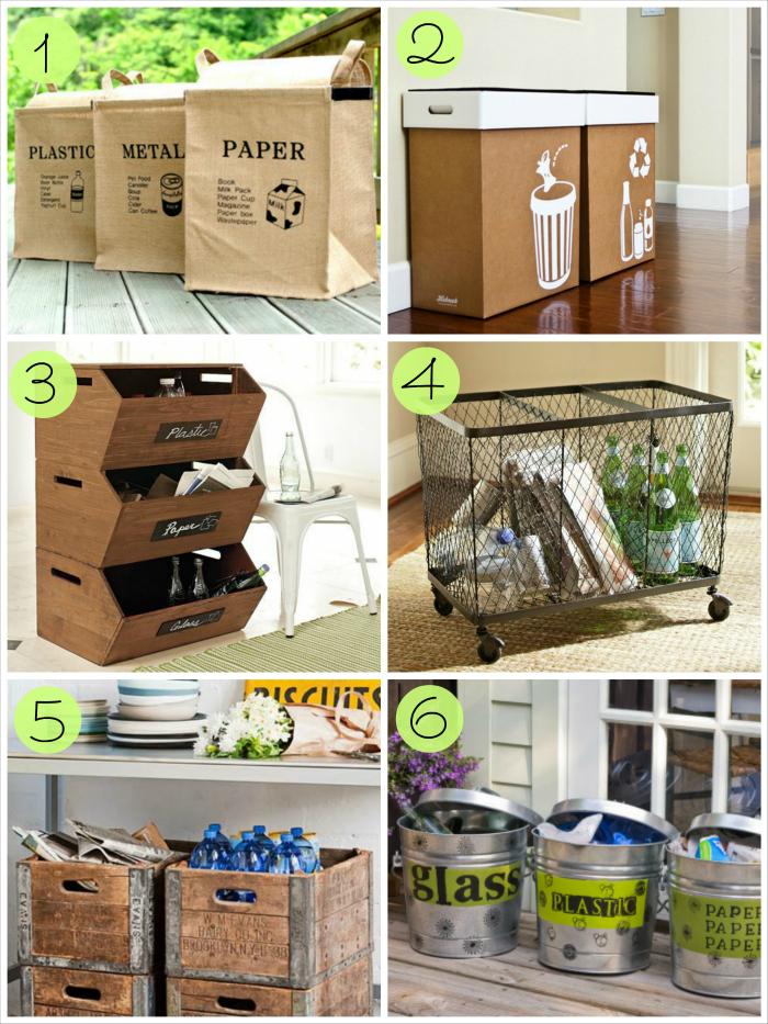 Zona de reciclaje en casa, reciclar, inspiracion reciclaje, reciclar en casa,