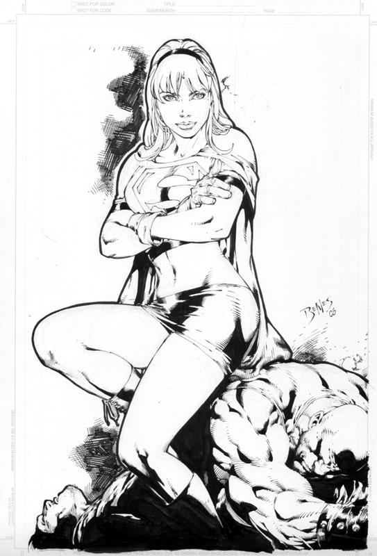 Supergirl por Ed Brenes