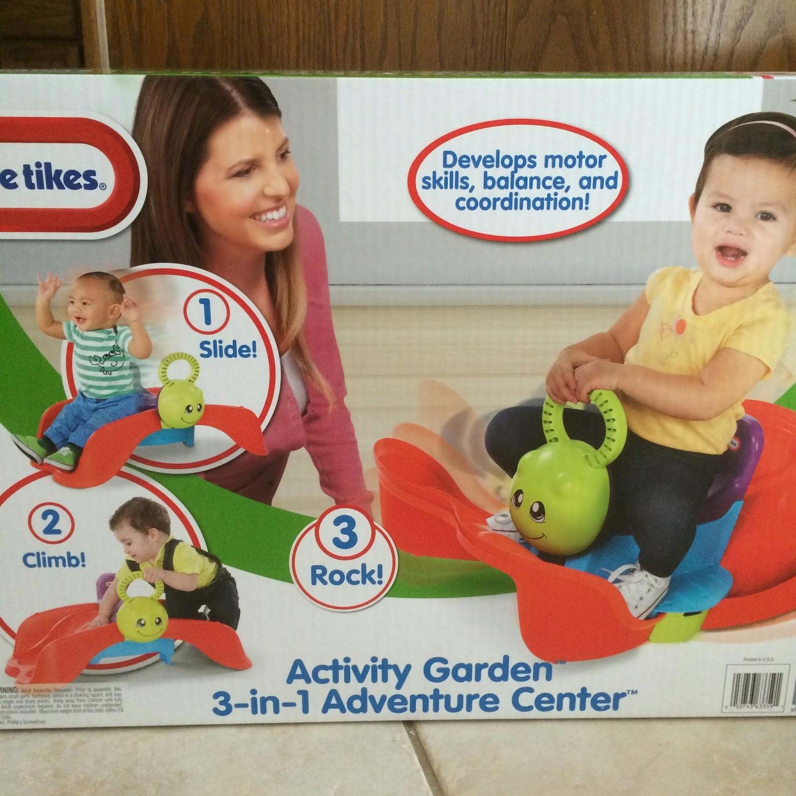 little tikes activity garden 3 in 1 adventure center toy