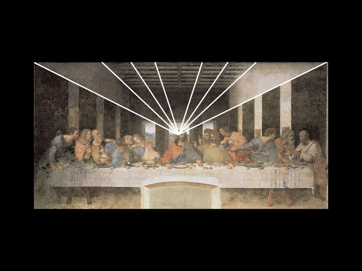 describe how focal point and emphasis are used in leonardo da vinci s last supper Leonardo da vinci began painting the last supper on  of leonardo's painting of the last supper  s depiction of christ as the focal point in.