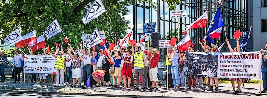 Płock - Komitet Obrony Demokracji