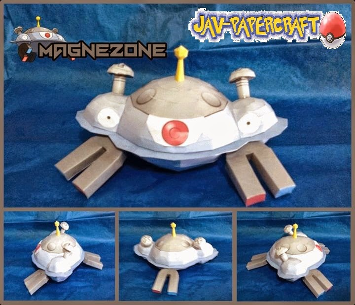 Magnezone Paper Model