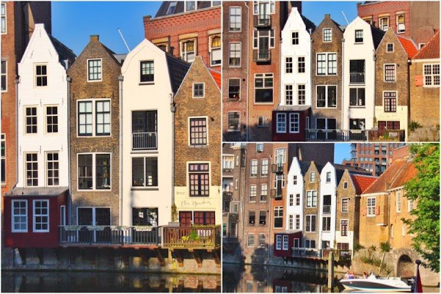 Delfshaven en Rotterdam – Casas al borde de los canales