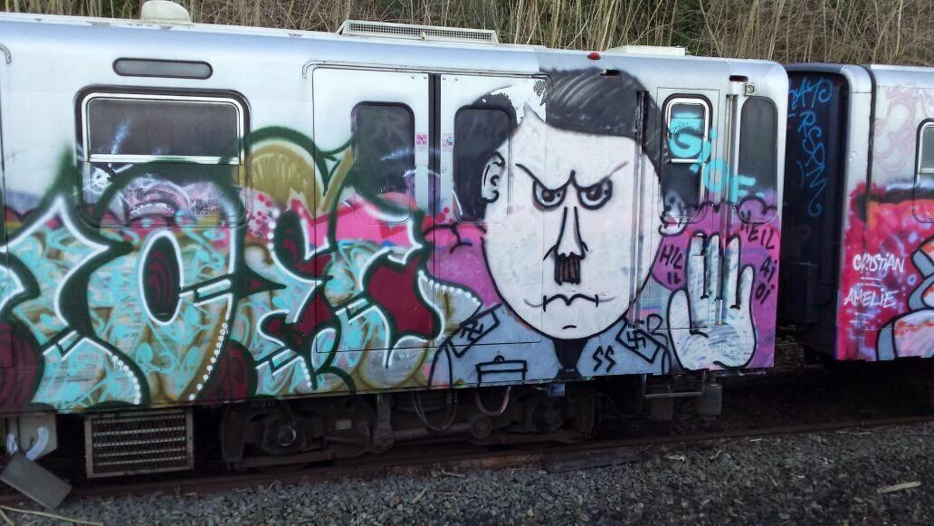 Il graffito di Hitler