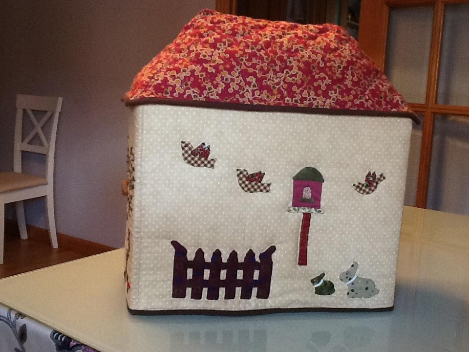 Costura con caf las fundas de las maquinas de coser de - Casas de patchwork ...