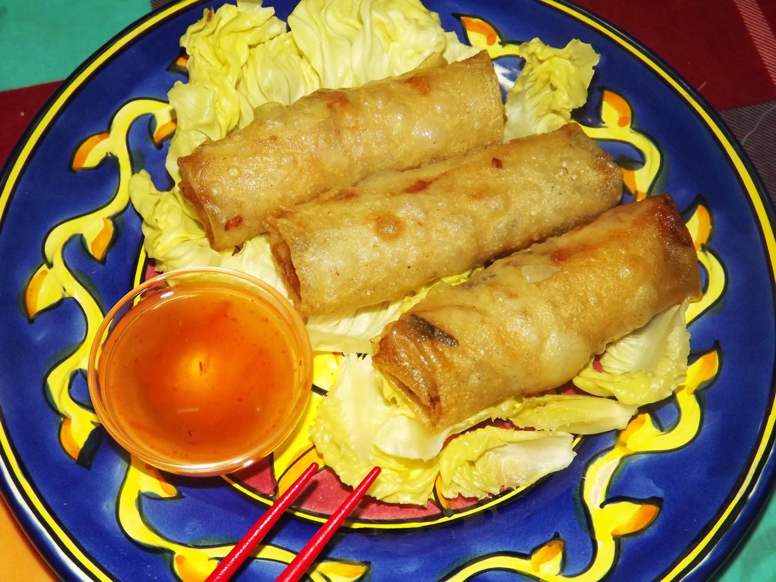 Gourmand gourmet nems vietnamiens au boeuf Nems vietnamiens