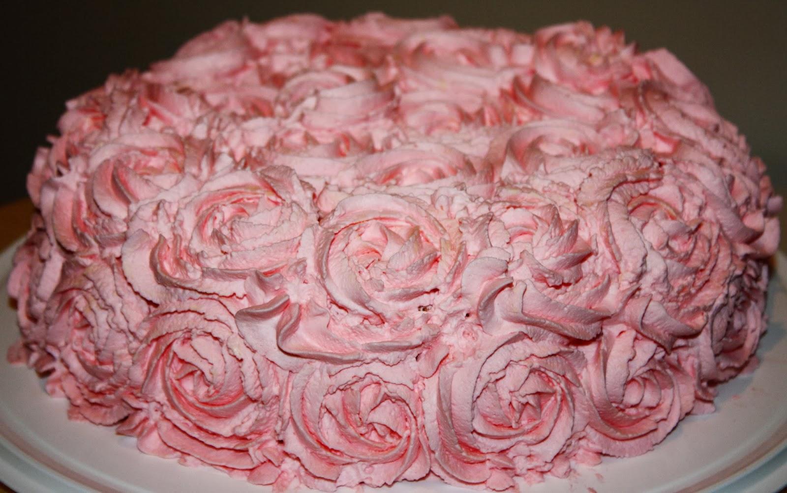 Täytekakku ruusupursotus