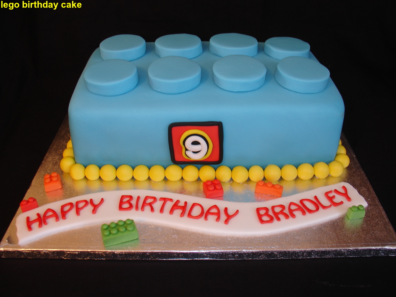 Lego Birthday Cake 2015 The Best Party Cake