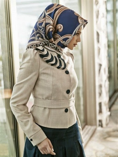 Gambar Hijab Modern Untuk Wanita Pekerja Atau Kantoran Terbaru 2017/2018