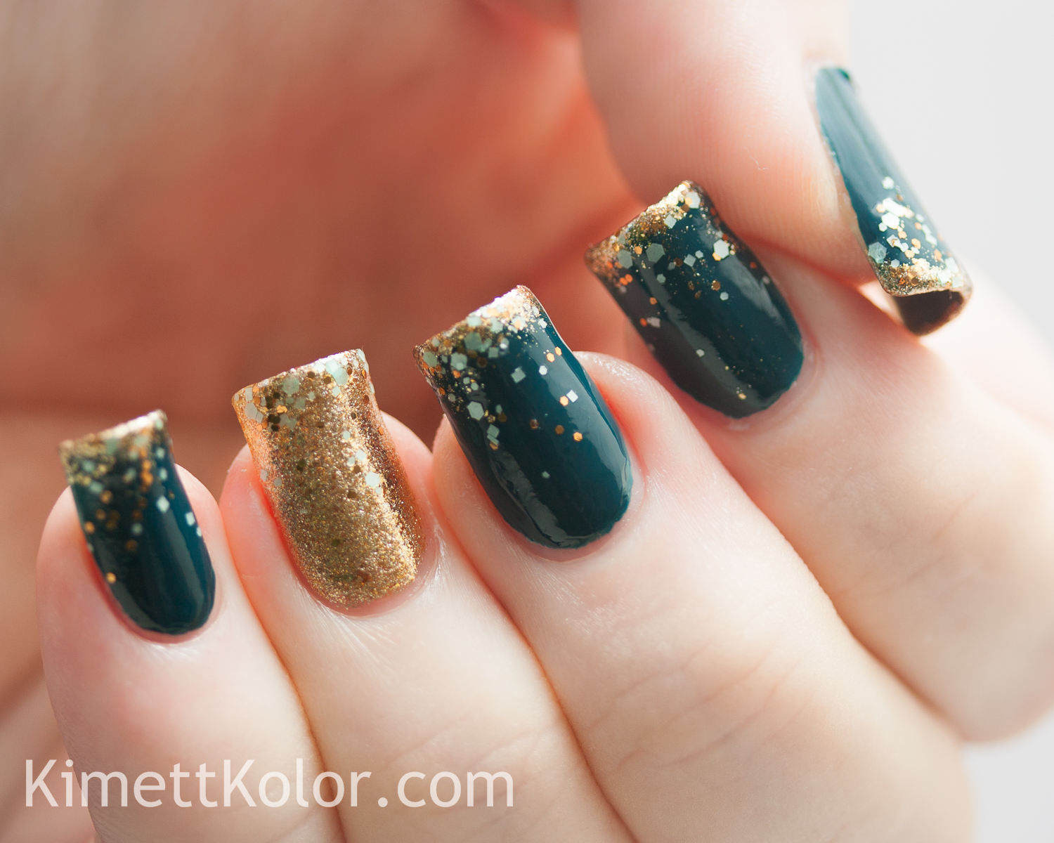 Mint Teal be Gold for New Year\'s Eve | Kimett Kolor