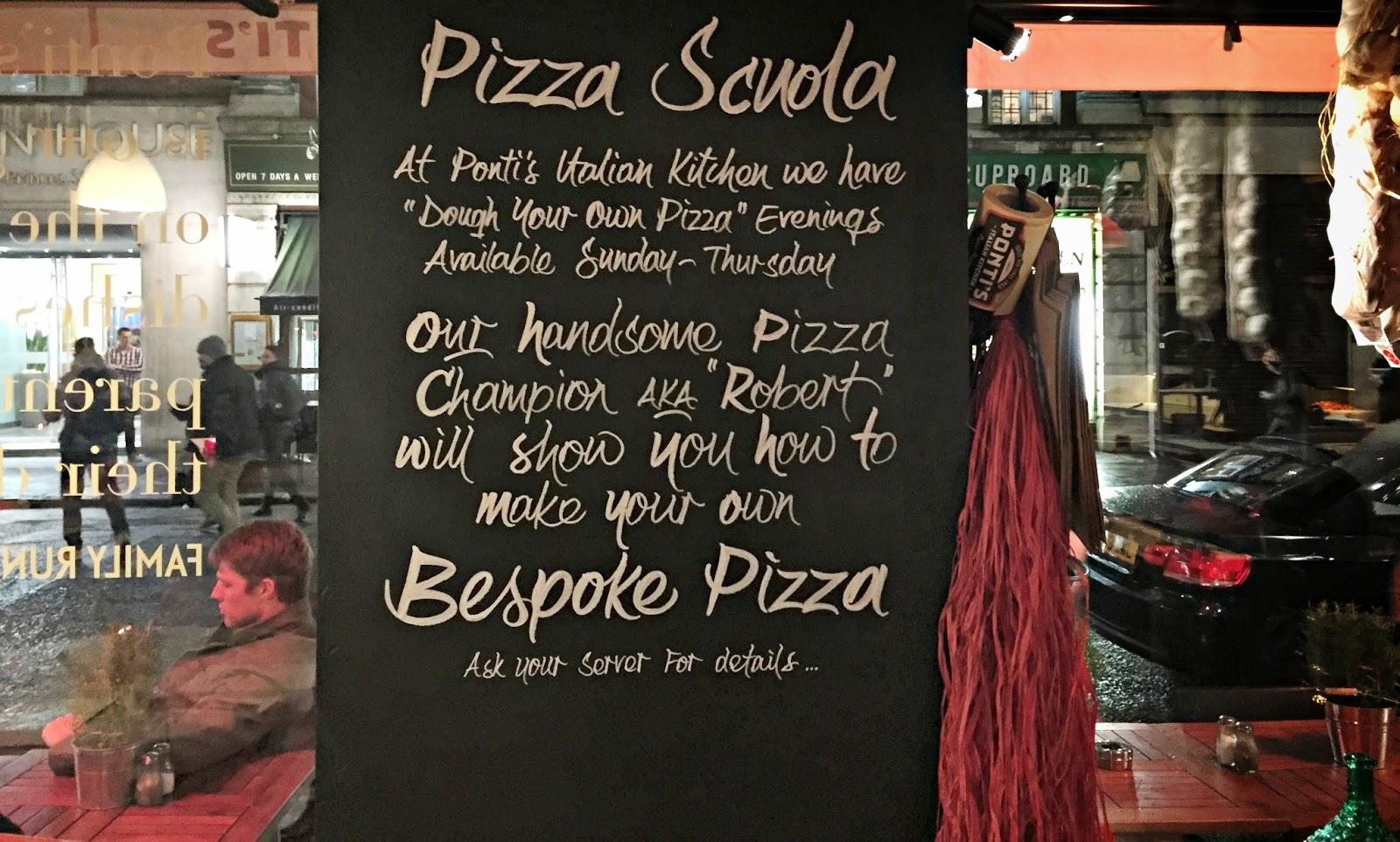 Pizza Scuola Ponti's