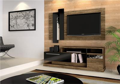 Festcine dicas decorando a sala com rack para tv com painel - Television pequena plana ...