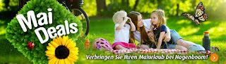 Maiurlaub im Ferienpark
