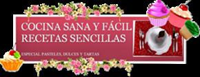 BLOG DE COCINA SANA | RECETAS SENCILLAS Y EQUILIBRADAS