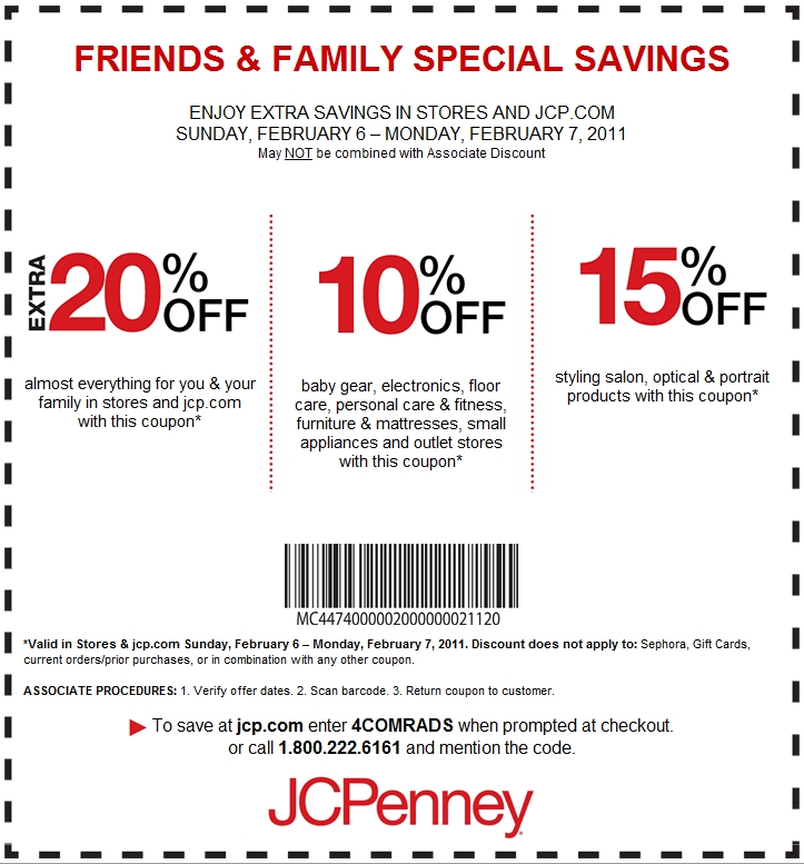 Jcpenney coupons codes november 2018