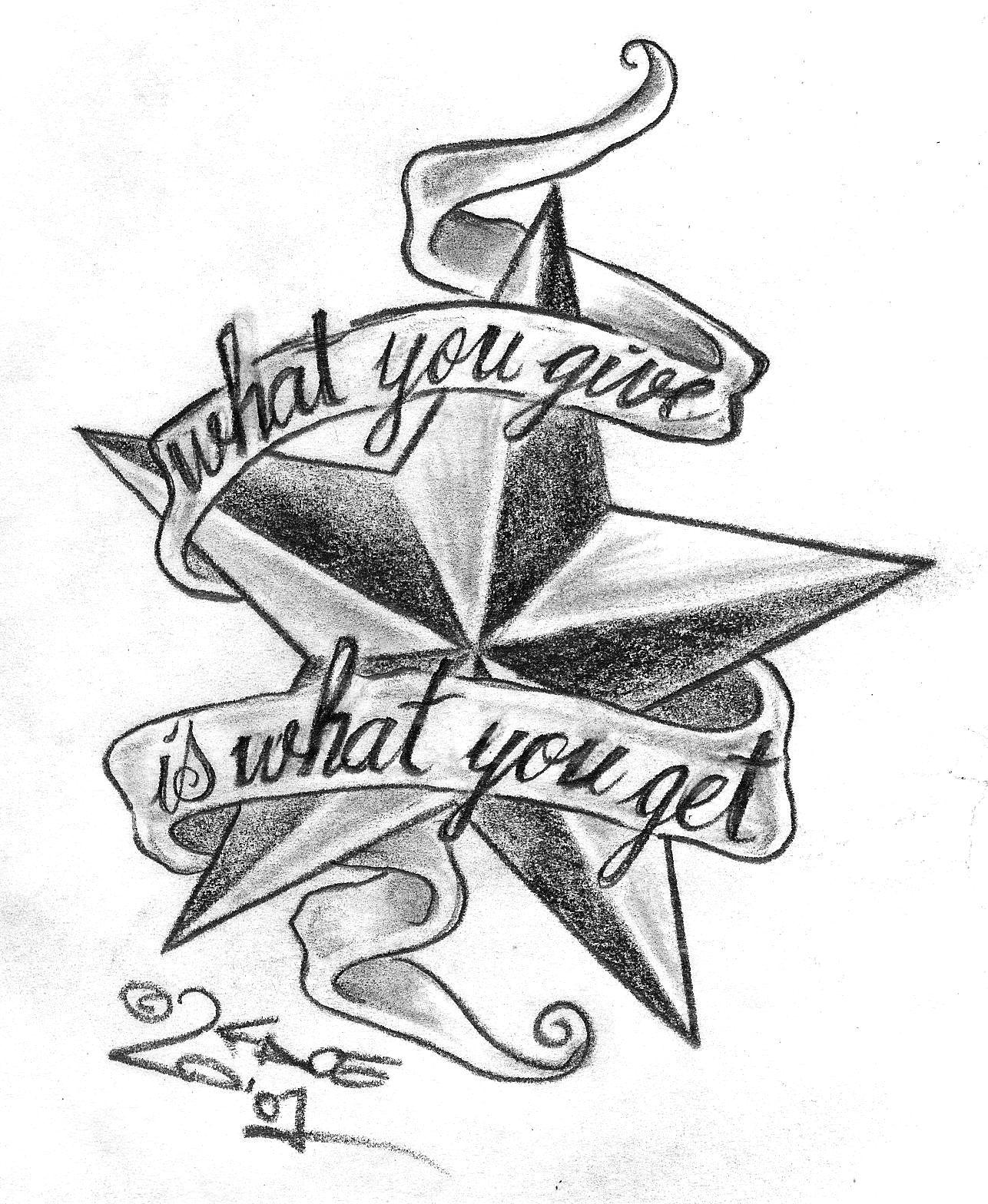 cosas laboral 8  star tatto