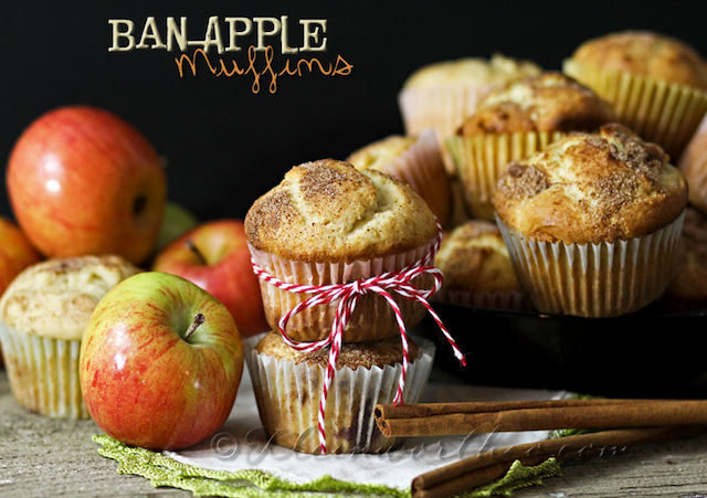 Ban-Apple Muffins