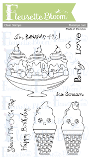 FB Ice Cream Party Stamp Set