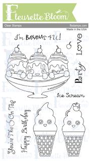 FB Ice Cream Party Stamp Set