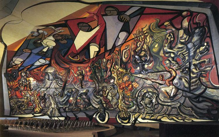 Solidaridad m s igualdad mendoza enero 2014 for El mural de siqueiros