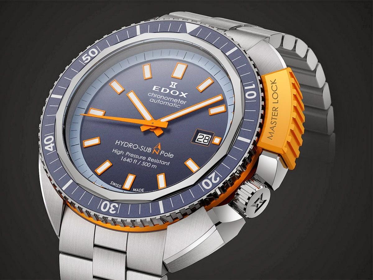 Os  gusta la marca EDOX+HydroSub+North+Pole+2014