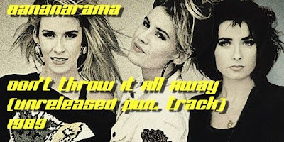 Bananarama - Don\'t Throw It All Away (Unreleased PWL Track) 1989 EuroBeat Hi-Nrg VERY RARE!