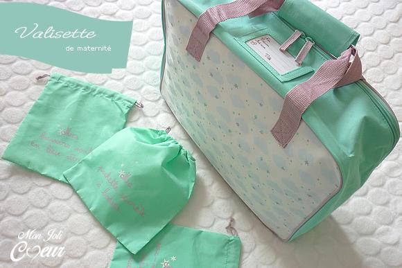 Mon joli coeur valisette de maternit nuages offerte - Code promo collectionnez les etoiles frais de port gratuit ...