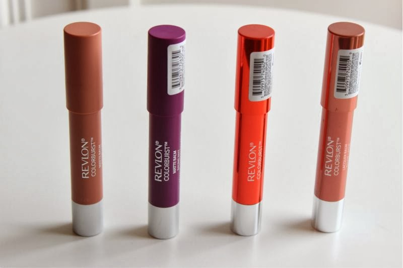 New Revlon Colorburst Balms