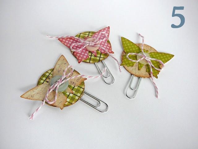 spinacze motyle