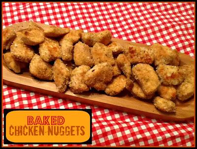 Utah Munchies: Healthy Baked Chicken Nuggets