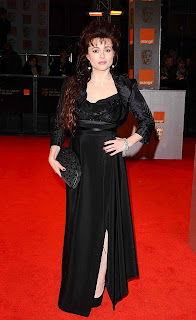 Helena Bonham Carter at the Baftas