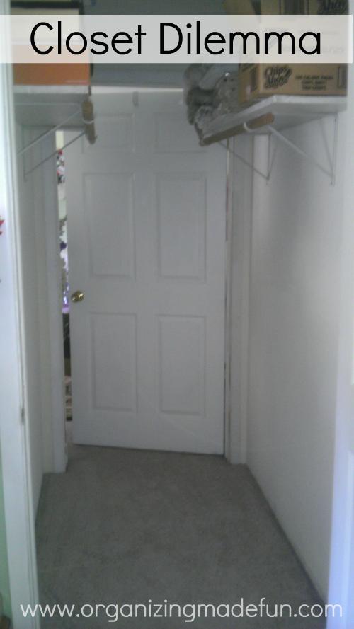 small narrow closet solutions 2