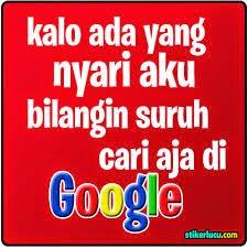 DP BBM Cari Aku di Google