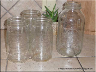 old canning jar score