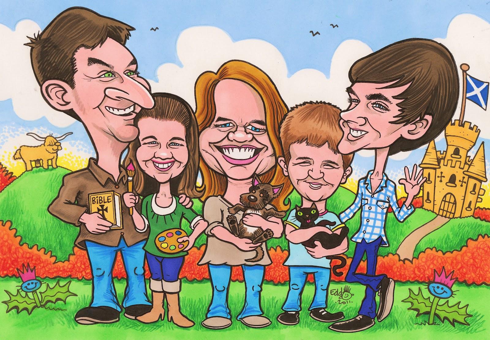 Edd Travers Caricature Blog: February 2012