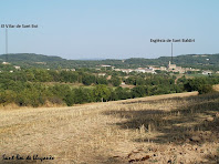 Panoràmica vers el sud des de la zona compresa entre els recs del Prat i de la Font del Bac