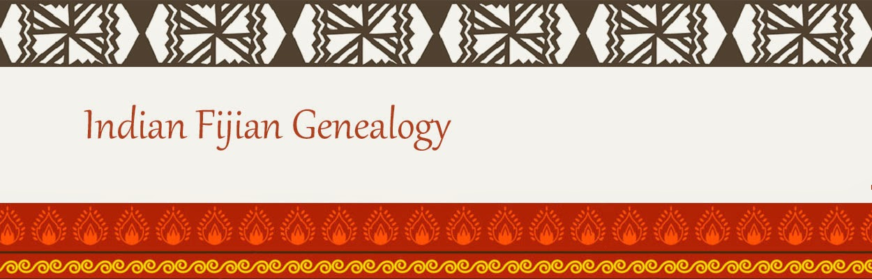 Indian Fijian Genealogy