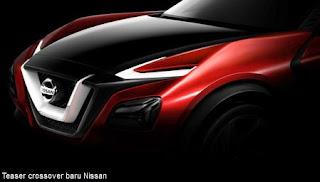 Benarkah Siluet Konsep Crossover Nissan Mencuat, Model Anyar Juke???