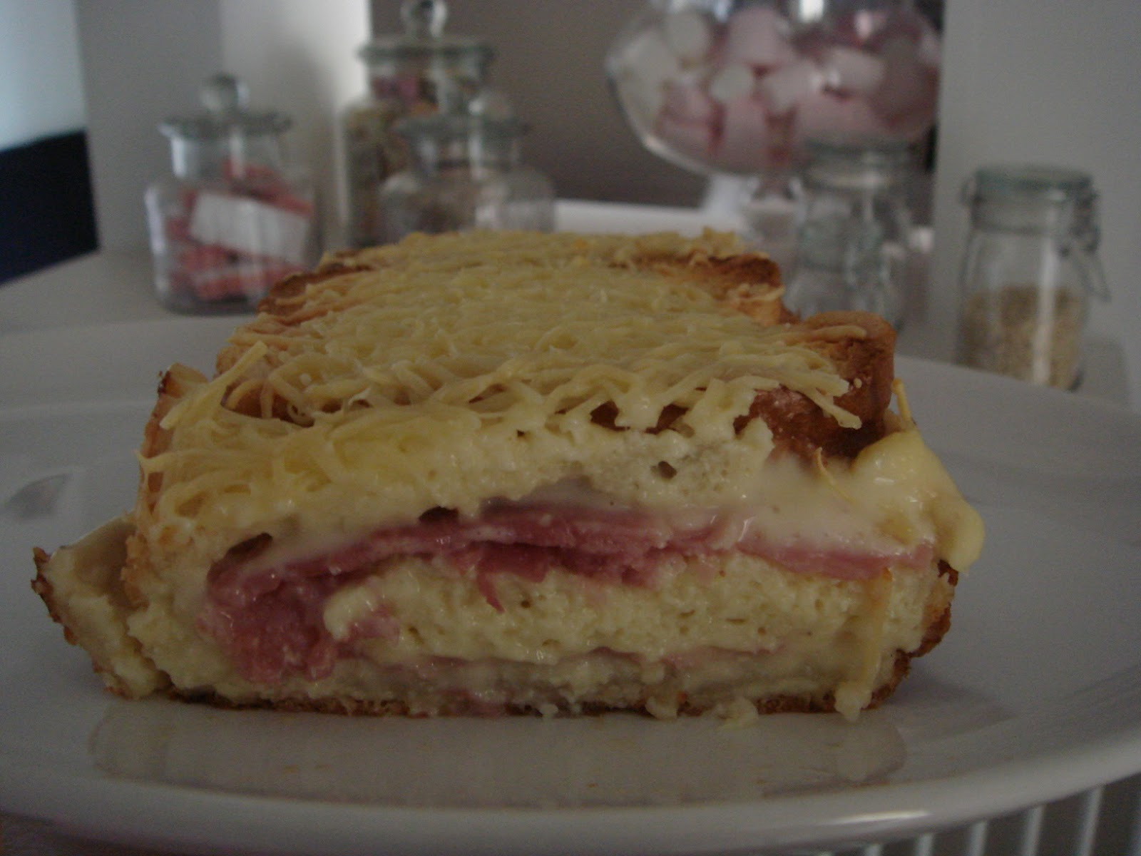 les recettes d 39 emilie cake croque monsieur. Black Bedroom Furniture Sets. Home Design Ideas